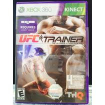 Jogo Ufc Trainer Xbox 360, Original, Novo, Lacrado