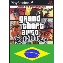 Gta San Andreas Legendado Ps2 Patch + 1 De Brinde