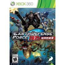 Earth Defense Force 2025 Xbox360 Lançamento! Americano!!!