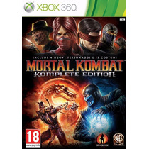 360 - Mídia Física - Original - Mortal Kombat 9 Komplete Ed.