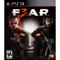 Ps3 - Fear 3 - Novo - Lacrado !!!!