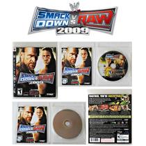 Smackdown Vs Raw 2009 Wwe Original Sony Ps3 Mídia Física