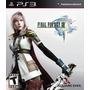 Final Fantasy Xiii (13) - Ps3 | Lacrado | Mídia Física