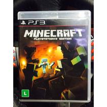 Jogo Minecraft Playstation 3 Edition, Novo, Lacrado Original