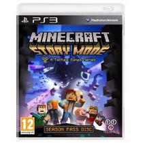 Minecraft Story Mode Ps3 Season Pass Disc Bluray Lacrado New