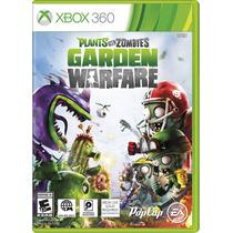 Jogo Plants Vs Zombies Garden Warfare Xbox 360 Frete Gratis