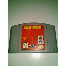 Mission Impossible N64 Original !!!
