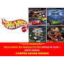 Hot Wheels World Race Para Playstation 2 (kit 4 Jogos Ps2