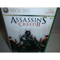 Assassins Creed 2 - Xbox 360 Original - Frete Único R$ 9,99