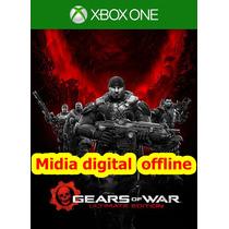 Gears Of War Xbox One -digital Offline + Xbox 360 Jogos