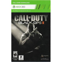 Call Of Duty Black Ops 2 Xbox 360 Mídia Digital Original