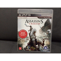 Jogo / Game Ps3 - Assassins Creed Iii (3)