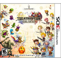 Jogo Lacrado Theatrhythm Final Fantasy Nintendo 3ds