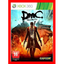 Dmc Devil May Cry Midia Fisica Usado - Xbox360
