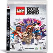 Lego Rock Band - Ps 3 - Lacrado - Original