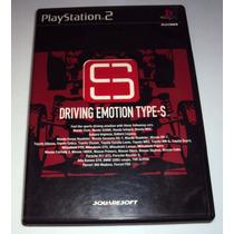 Jogo Ps2 Driving Emotion Type-s Somente Caixa S/jogo
