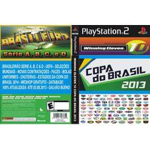 Patch We 10 Copa Do Brasil 2013 Ps2 Frete Gratis