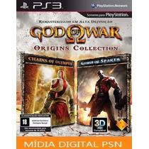 God Of War Origins Collection Psn - Jogo Ps3 - Loja Oficial