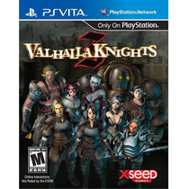 Jogo Lacrado Valhalla Knights 3 Para Ps Vita