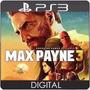 Max Payne 3 Br Legendado Ps3 Psn Código Envio Já