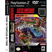 Tmtn 4 Turtles In Time - Playstation 2 - Frete Gratis.