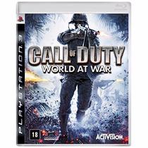 Call Of Duty World At War Ps3 Mídia Física Novo Original
