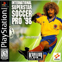 International Super Star Soccer 98 Playstation 1 Frete Grati