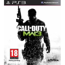 Call Of Duty Modern Warfare 3 Ps3-leilão A Partir De R$ 1