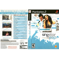 Singstar Pop - Ps2 - Original