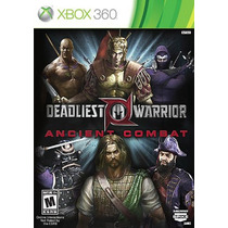 Deadliest Warrior Ancient Combat Xbox 360 Lacrado