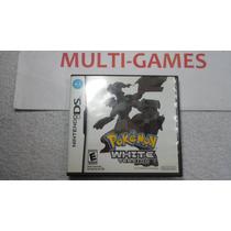 Pokémon White Original Americano Para Nds - Ndsi - 3ds