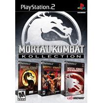 Mortal Kombat Kollections - Playstation 2 - Frete Gratis.
