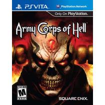 Ps Vita - Army Corps Of Hell - Novo E Lacrado