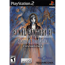 Final Fantasy Xi: Chains Of Promathia - Ps2 - Original