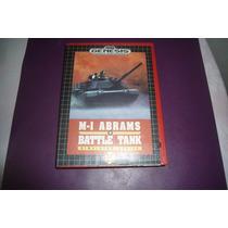 Capa P/ Fita Mega Driver - Genesis M-1 Abrams Battle Tank!!