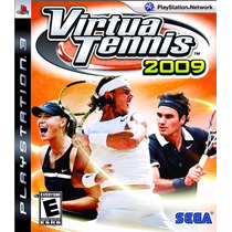 Ps3 Vitua Tennis 2009 Lacrado