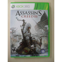 Assassins Creed 3 Completo - Original Xbox 360 Ntsc