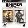 Jogo Lacrado Sniper Ghost Warrior Double Pack Playstation 3