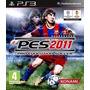 Pes 2011 P/ Ps3 Pro Evolution Soccer 2011 Usado