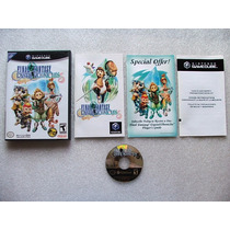 Game Cube: Final Fantasy Crystal Chronicles Completo!! Eua!!
