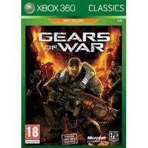 Jogo Europeu Pal Gears Of War Para Xbox 360 Original Lacrado