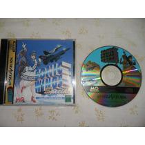 Sonic Wings Special Completo Sega Saturno - Raro