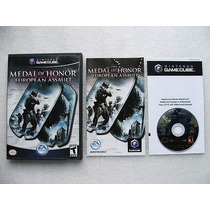 Game Cube: Medal Of Honor European Assault Completo!! Raro!!