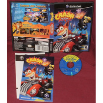 Game Cube: Crash Tag Team Racing Americano Completo!! Raro!!