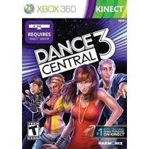 Jogo Ntsc Dance Central 3 Para Xbox 360 Requer Kinect