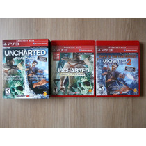 Uncharted Dual Pack - Ps3 - Original Completo