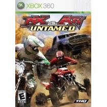 Jogo Mx Vs Atv Untamed Original E Lacrado Para Xbox 360