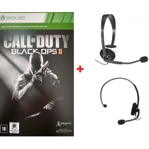 Call Of Duty Black Ops 2 Digital+ Headset Original Microsoft