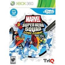Jogo Udraw Marvel Super Hero Squad Comic Combat Xbox 360