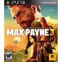 Max Payne 3 - Ps3 - Original E Legendado Em Português